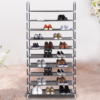 Homdox Home Portable 5/8/10 Tier Shoes Rack Stand Shelf Shoes Organizer Storage Furniture #50-25