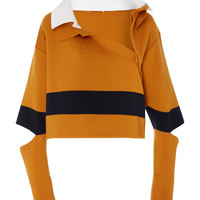 Wide Stripe Polo Sweater | Moda Operandi