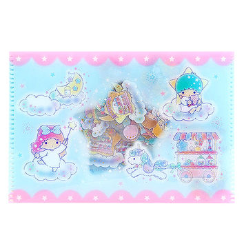 Buy Sanrio Little Twin Stars Sticker Flakes in Plastic Pouch at ARTBOX