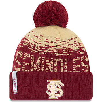 Florida State University Fleece Pom Knit Beanie | Florida State University