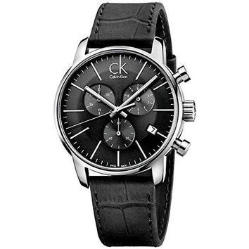 Calvin Klein Men's City Chronograph Watch, K2G271C3
