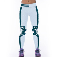 Fitness Women Sports Leggings Punk Rock Gym Pants Capris 3D LIMITED EDITION RAIDER 31 Printing Workout Legging