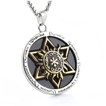 Talisman Seal Solomon Six-pointed Star Pendant Hermetic Enochian Kabbalah Pagan Wiccan Jewelry