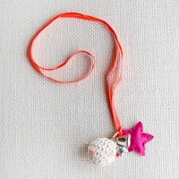 Hello Alyss Star and Ball Necklace