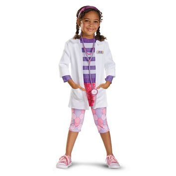 Disney Doc McStuffins Deluxe Costume - Toddler (Purple/Pink)