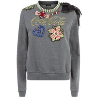 Pinko Appliqué Sweater | Harrods.com