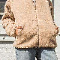 Willow Shearling Jacket - Jackets - Outerwear - Clothing