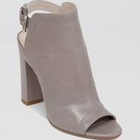VINCE CAMUTO Open Toe Booties - Vamelia High Heel | Bloomingdales's