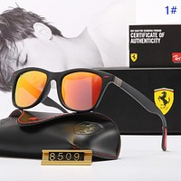 Burberry & Ferrari Fashion new polarized travel sun protection couple glasses eyeglasses 1#