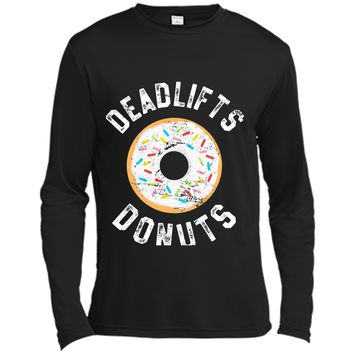Donut Workout T-Shirt Deadlifts Donuts Funny Fitness