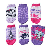 """Peanuts Snoopy """"Love"""" Toddler Socks for Girls 2T-4T"""