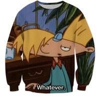 """Hey Arnold """"Whatever."""""""