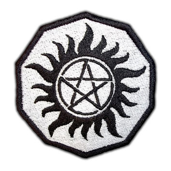 Supernatural Demon Possession Ward Patch