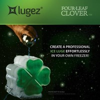 St. Patrick's Day Ice Luge Mold
