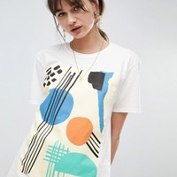 Reclaimed Vintage Inspired T-Shirt With Graphic Print at asos.com