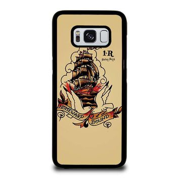 SAILOR JERRY Samsung Galaxy S3 S4 S5 S6 S7 Edge S8 Plus, Note 3 4 5 8 Case Cover