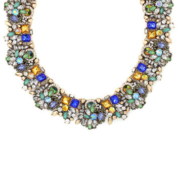 Tess Jeweled Collar Necklace