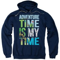 Adventure Time My Time Licensed Adult Hoodie