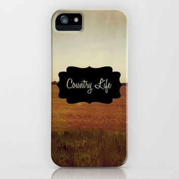 Country Life iPhone & iPod Case by Josrick
