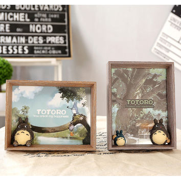 Home Decor Cats Creative Wooden Decoration Korean Gifts Photo Frame [6283157958]