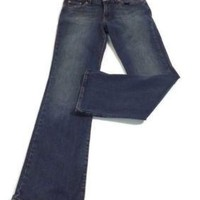 Lucky BRAND womens Dungarees  Jeans Pants Slight Flare Mid Rise  Size  4 X 31