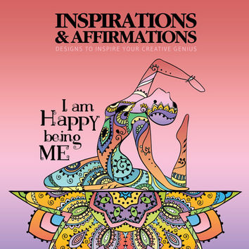 Adult Coloring Book, Printable Coloring Pages, Coloring Pages, Coloring Book for Adults, Instant Download, INSPIRATIONS & AFFIRMATIONS