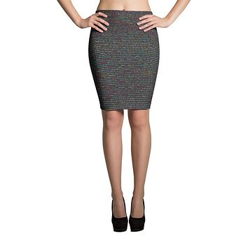JavaScript Pencil Skirt