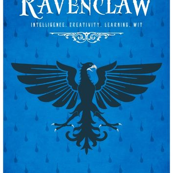 Ravenclaw House Poster Art Print by LiquidSoulDesign | Society6