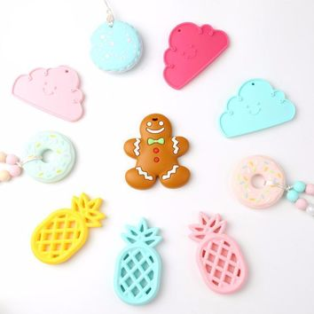 Baby Teether Ginger Cookies Toy