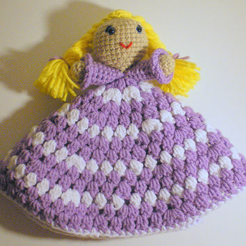 Princess Lovey PDF Crochet Pattern INSTANT DOWNLOAD