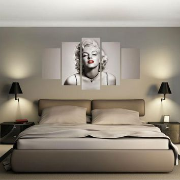 Marilyn Monroe Canvas Print Wall Art