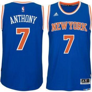 New York Knicks Carmelo Anthony #7 jerseys