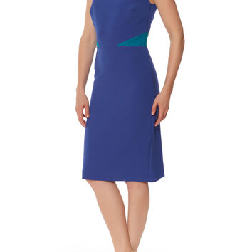Color-Block Cutout Dress Atelier by Nicole Miller Sheath Dress