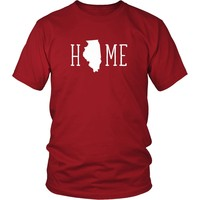 State T Shirt - Sweet Home Illinois