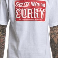 The Hundreds: Sorry Tee