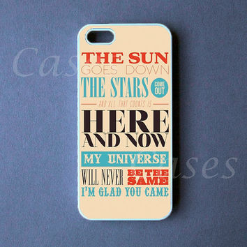 Iphone 5 Case   Glad You came Iphone 5 Cover by DzinerCase on Etsy