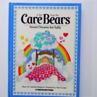 Vintage Care Bears Hardback Children's Book 1983
