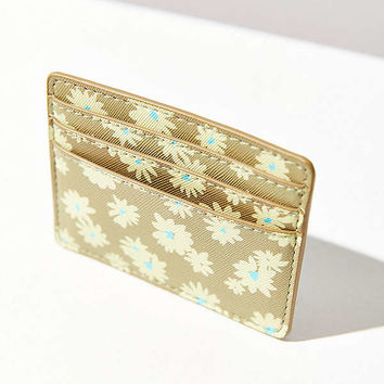 Flower Print Card Case | Urban Outfitters
