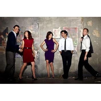 How I Met Your Mother poster Metal Sign Wall Art 8in x 12in