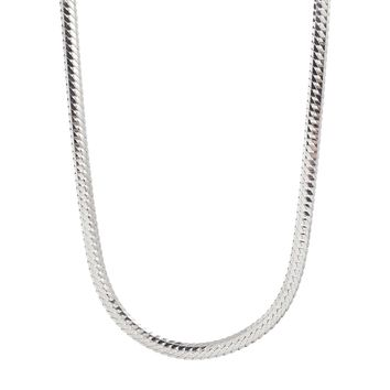Susan Caplan Vintage Exclusive For ASOS Flat Snake Chain Necklace