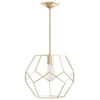 Mara Polished Brass Small Pendant Arteriors Home Lantern Pendant Lighting Ceiling Lighting