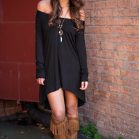 The Highs & Lows Dress (Black)
