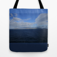 Oahu Blue Tote Bag by CSteenArt