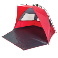 Haven Sun Shelter Red/Grey