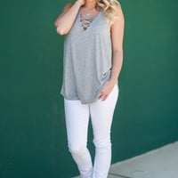 Into The Wild Tank, Heather Gray