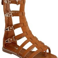 Girls Gladiator Sandal, Tan