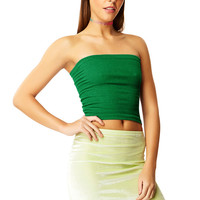 Emerald City Green Tube Top
