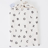 Alphabet Pillow Cases