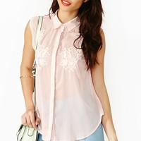 Flower Fracture Blouse