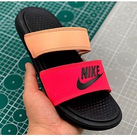 Nike BENASSI DUO ULTRA Summer sports sandals for men and women